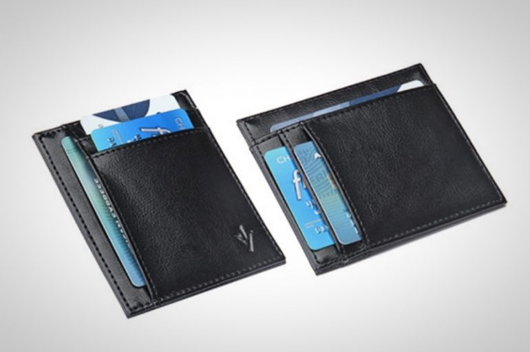 Defender RFID-Blocking Leather Card Holder