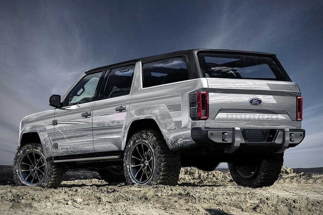 This New 2020 Ford Bronco 4-Door Concept Needs To Become A