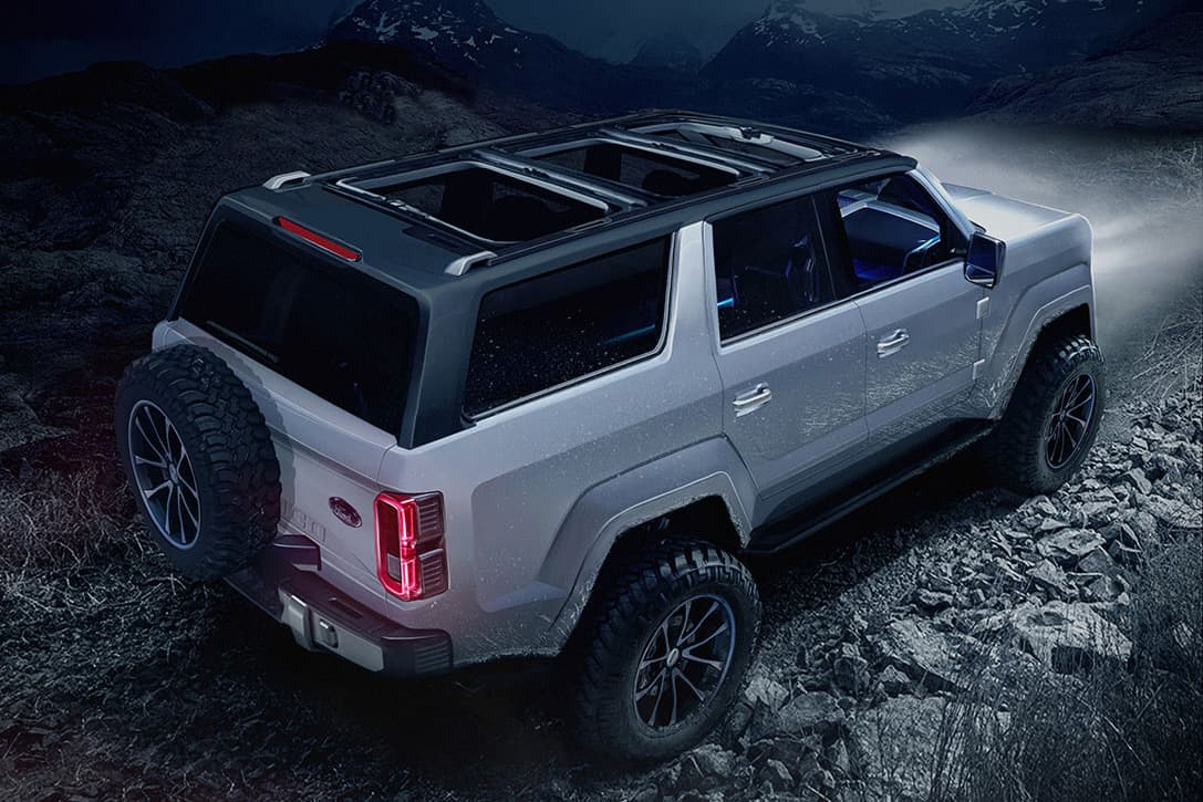 This New 2020 Ford Bronco 4 Door Concept Needs To Become A