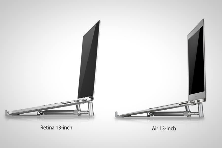 Steklo Aluminum Laptop Stand Adjustable