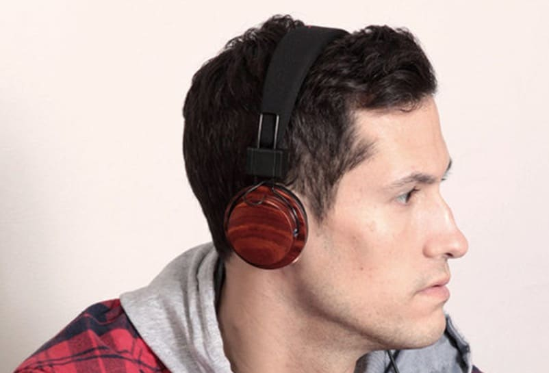 Boosted Acoustic Wood Headphones