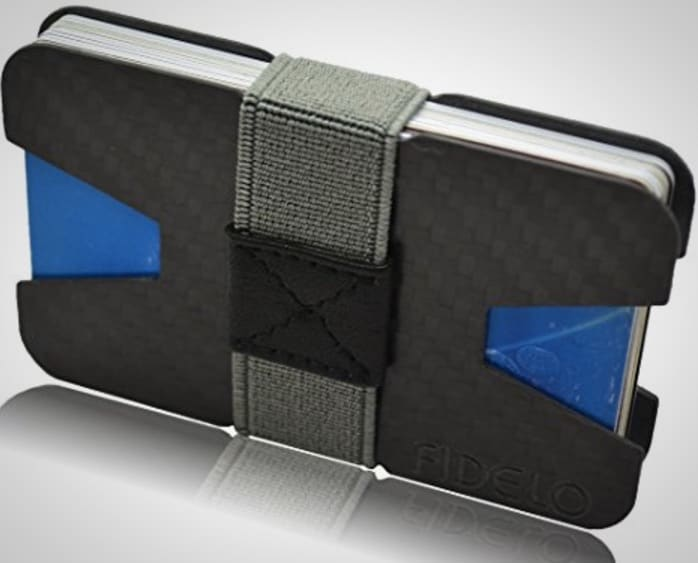 Carbon Fiber Card Wallet