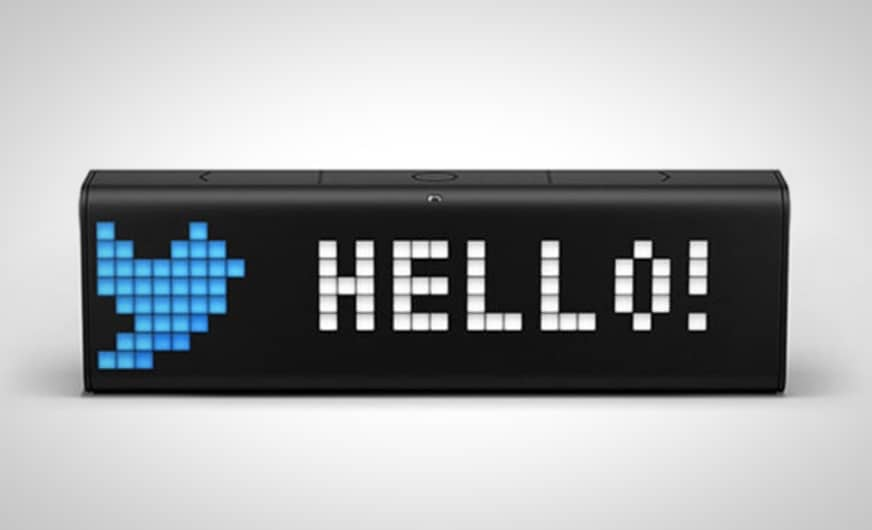 Lametric Time Might Be The World S Smartest Programmable Clock