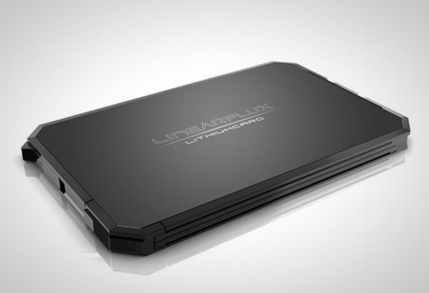 LithiumCard Wallet Portable Battery
