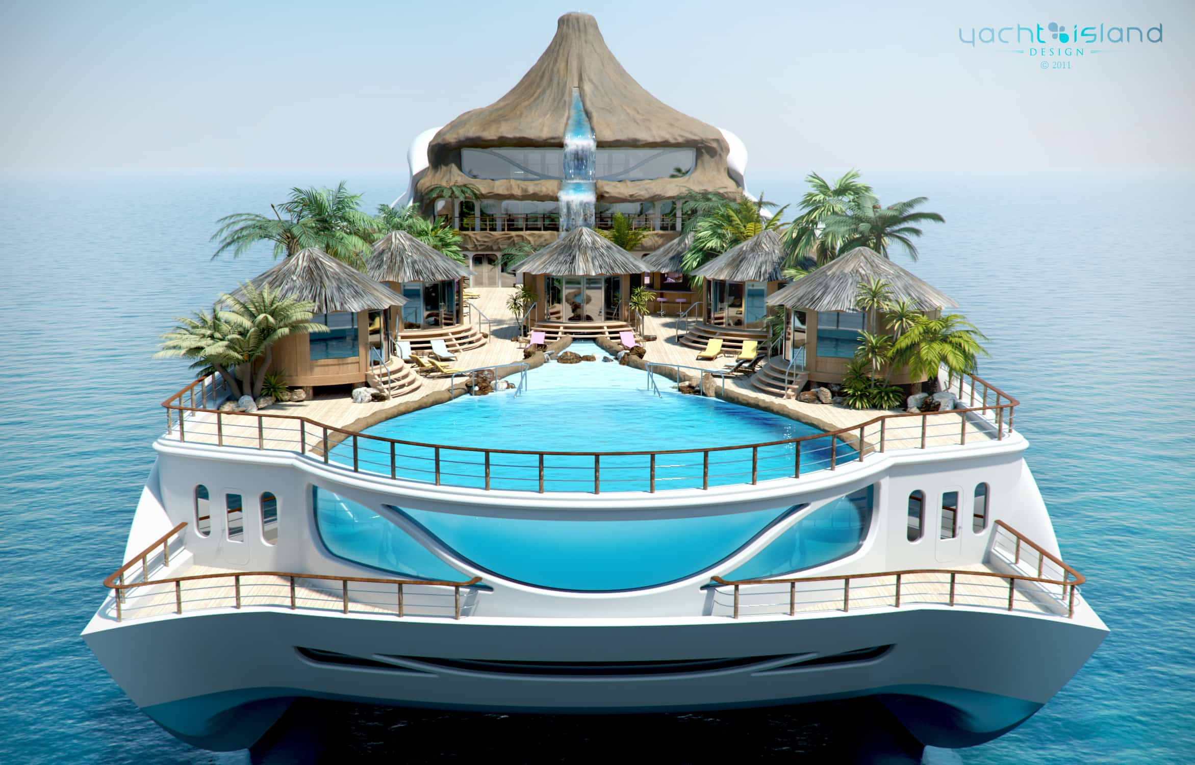 Tropical Island Superyacht