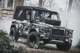 Land Rover Defender Military Edition
