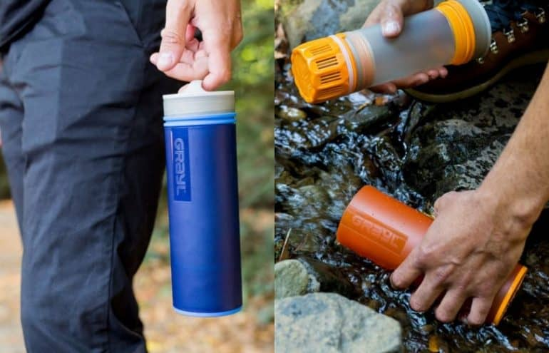 grayl water bottle