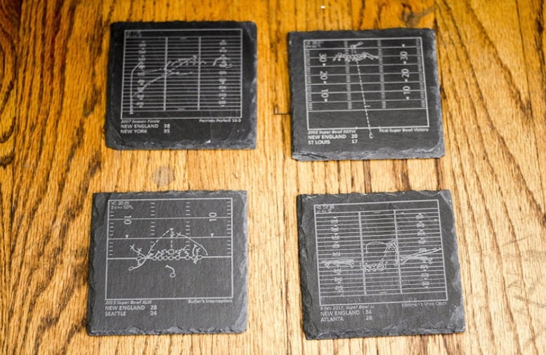 Greatest Plays Drink Coasters