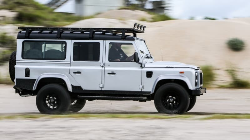 land rover defender project ironhorse