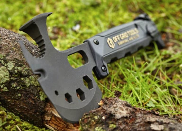 Off-Grid Survival Axe