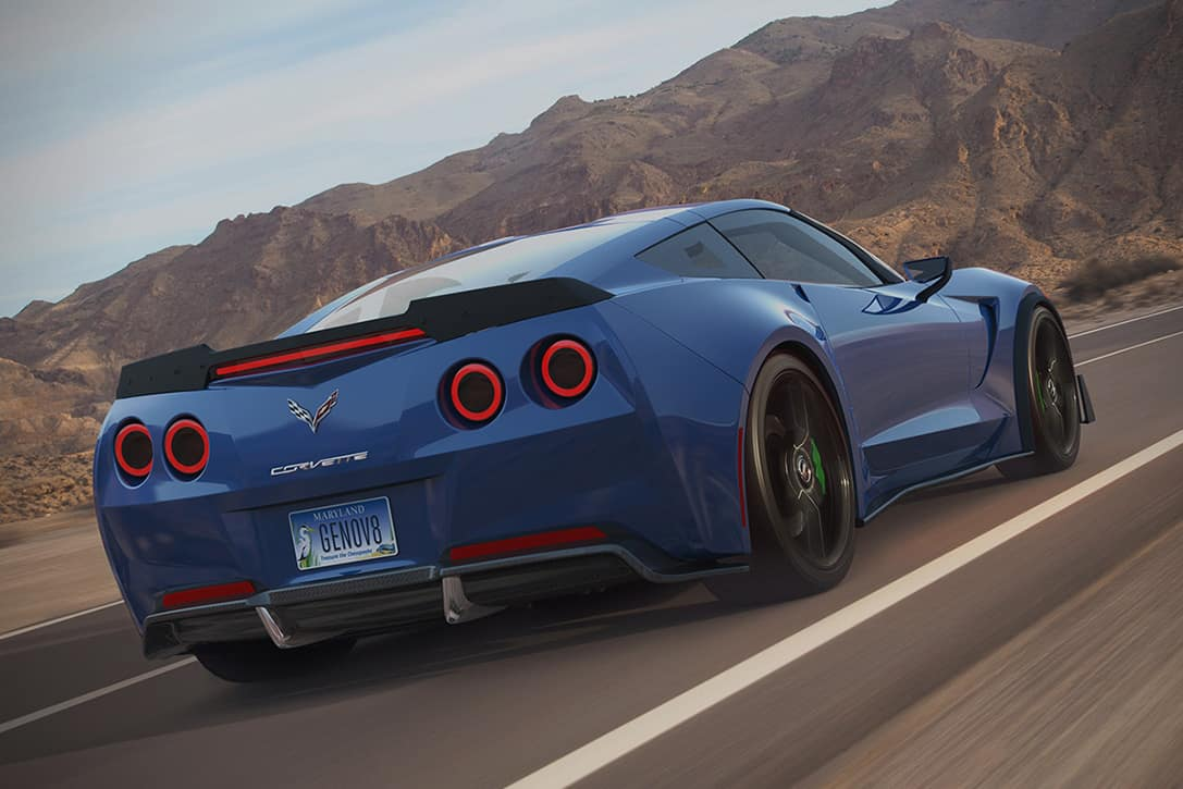 All-Electric Corvette