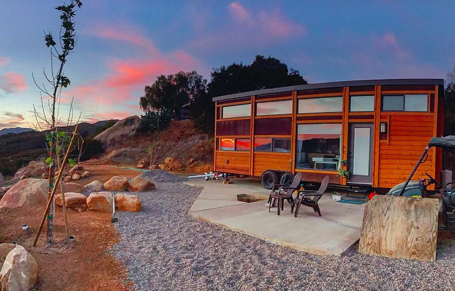 Traveler Xl Tiny House Is A Mobile Wooden Cabin With