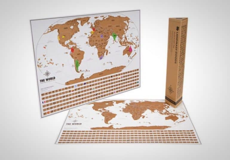 World Travel Tracker Scratch Off Maps