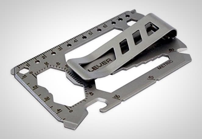 Credit Card Multitool Money Clip