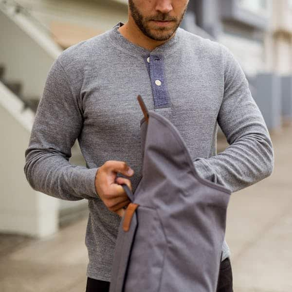 Grayers Double Cloth Henley