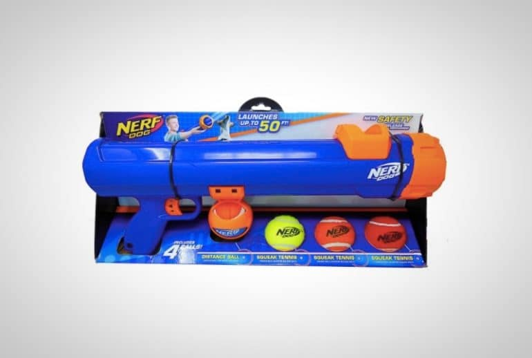 Nerf Dog Tennis Ball Shooter