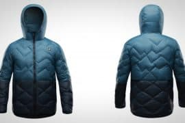 Orage Newton Coat Blue Steel