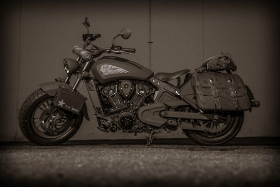 Call of Duty Indian Motorcycle