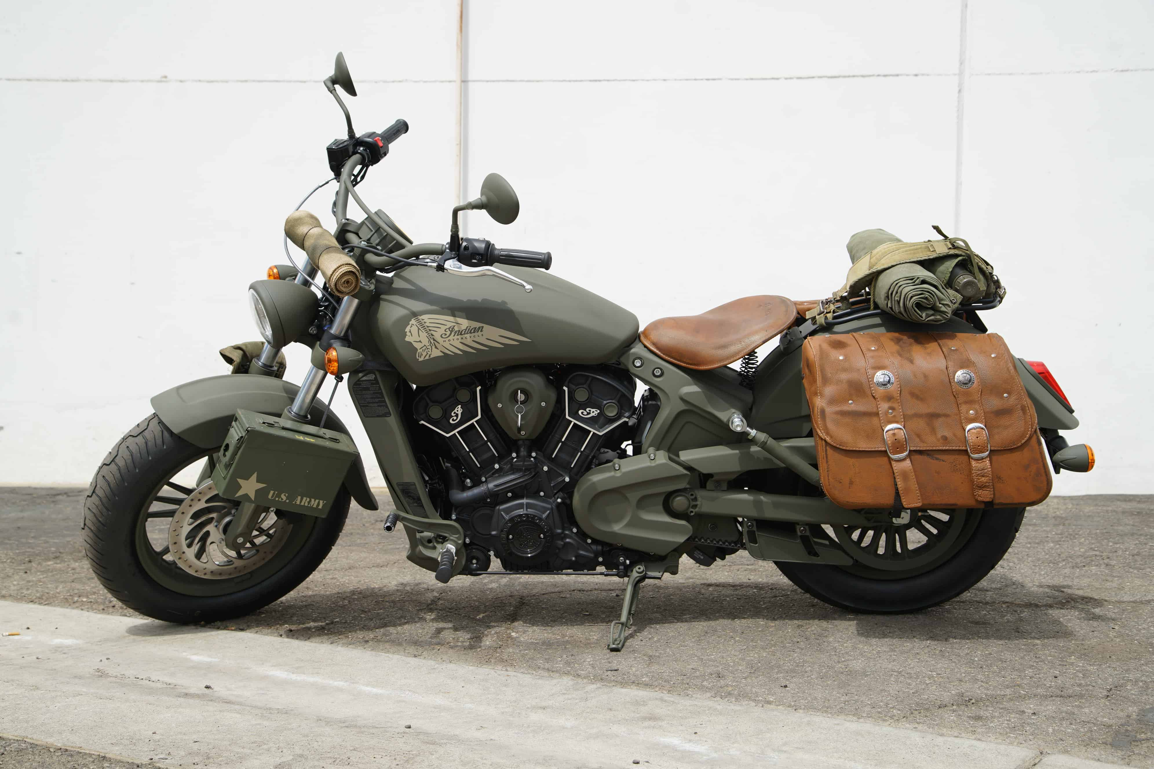 Indian Motorcycle Made A Special Call Of Duty Wwii