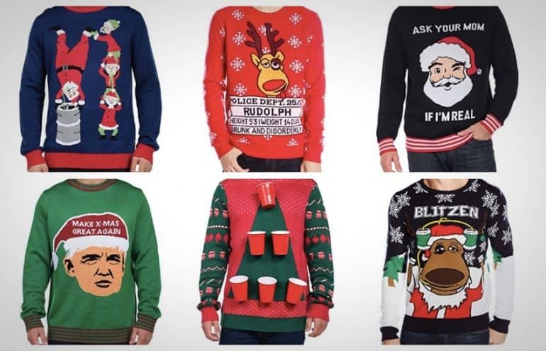 best ugly christmas sweaters 2017 - Best Christmas Sweaters