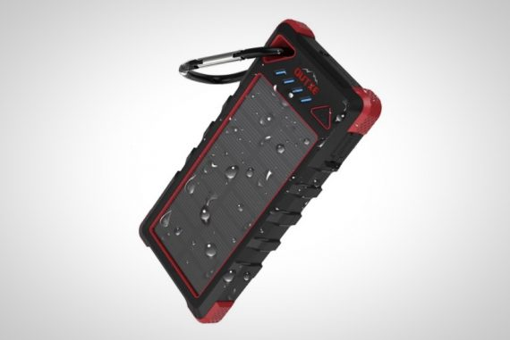 Solar-Powered Smartphone Charger
