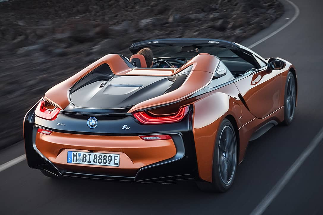 2019 bmw i8 roadster has more horsepower than ever before