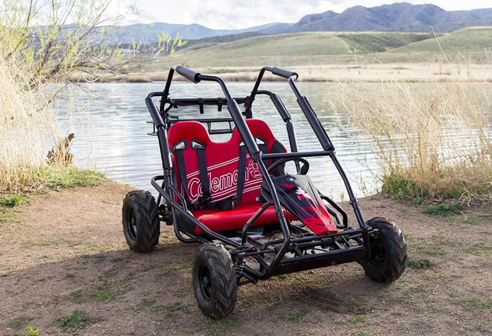 gas powered coleman powersports off road go kart. Black Bedroom Furniture Sets. Home Design Ideas