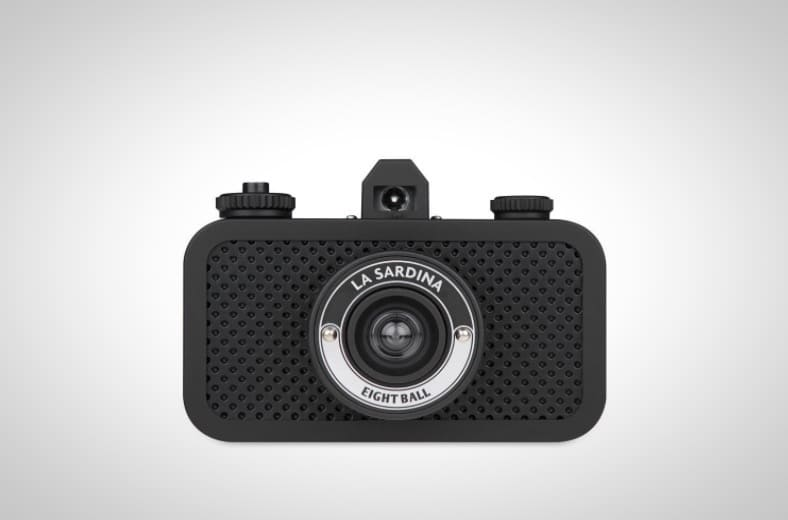 La Sardina 8Ball Camera From Lomography
