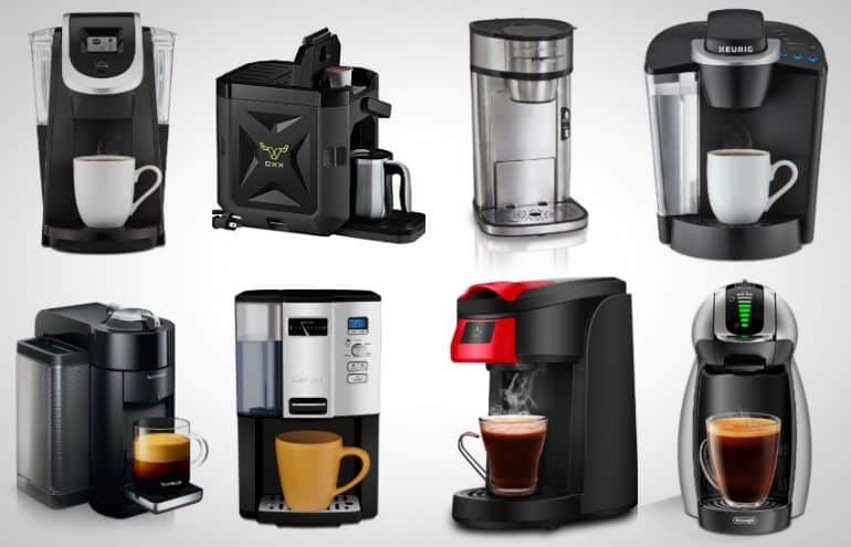 12 Best Single Cup Coffee Makers On The Market Right Now