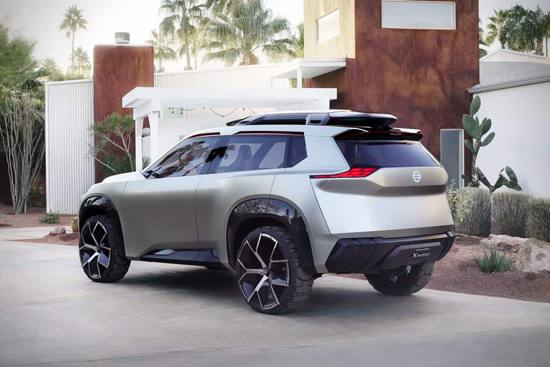 Nissan Xmotion SUV Concept