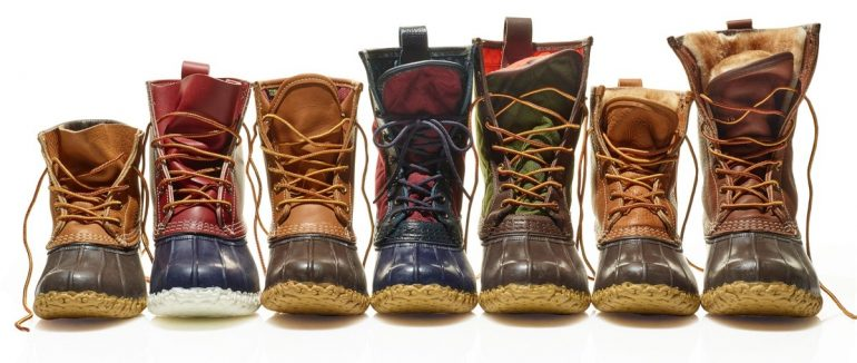 small batch L.L. Bean Boots