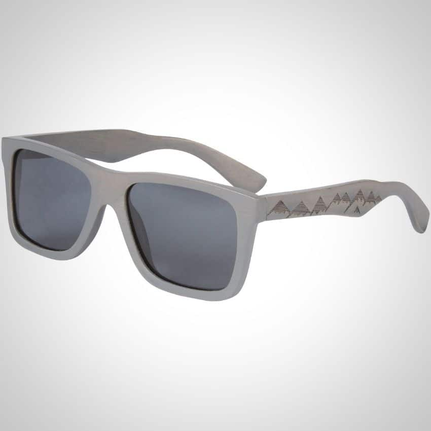 cb76b524f5f The gray color of these SHINER sunglasses may through you off a bit