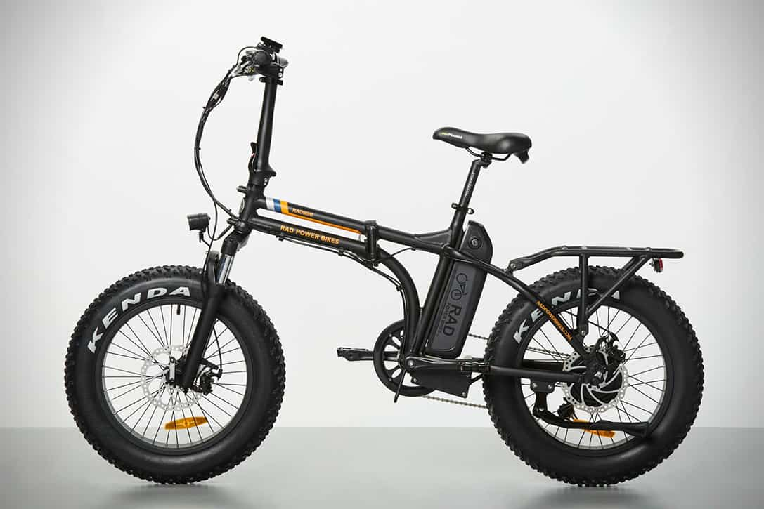 Radmini Electric Folding Fat Bike Goes Up To 45 Miles On