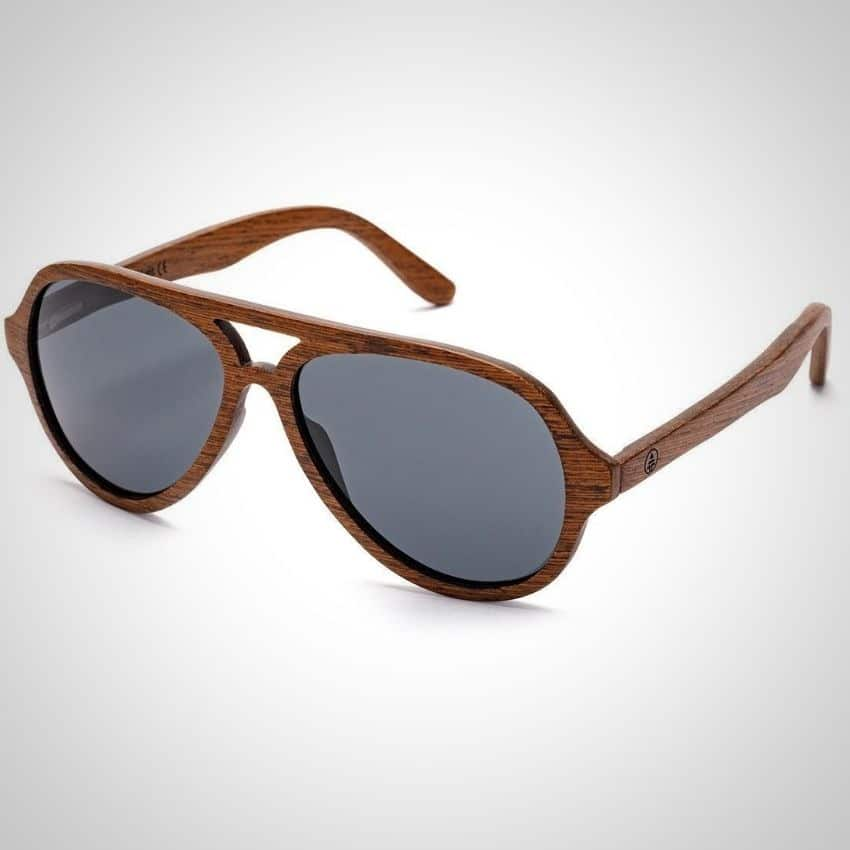 16672a2e876 Tree Tribe is a forced to be reckoned with in the sunglass market. With the  Wood Aviator Sunglasses they bring a new spin on what wooden sunglasses can  be.