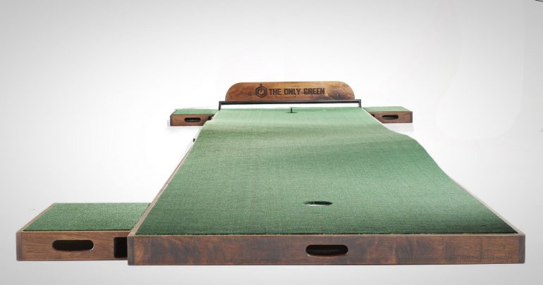 Putt Like the Pros With The Only Green Indoor Putting Green | The ...