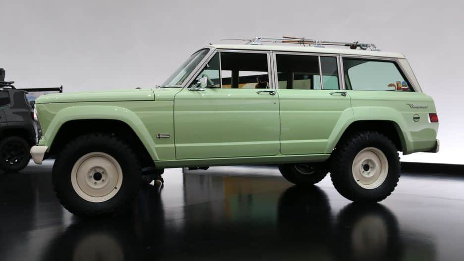 this jeep wagoneer roadtrip is a modernized classic the daily want. Black Bedroom Furniture Sets. Home Design Ideas