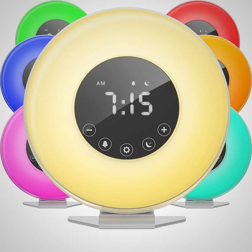best sun simulating alarm clocks