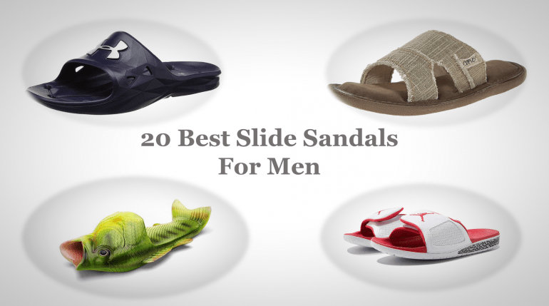 c8be996a4d90 20 Best Slide Sandals For Men That Have Comfort and Style