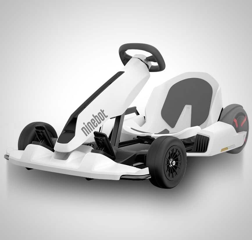 Ninebot Electric Go Kart Lets You Play Mario In Real Life