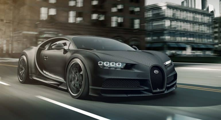"""Just One Bugatti La Voiture Noire Exists And It S Priced: Bugatti Announces The """"Budget"""" Version Of The World's Most"""